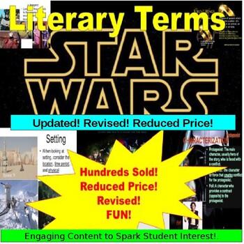English Literary Terms Bundle: Using Star Wars, Batman and LOTR
