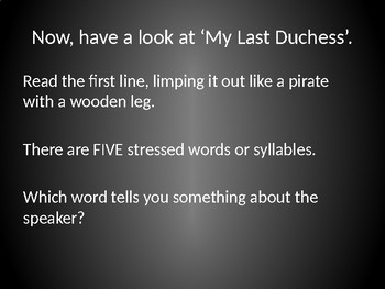 "English Literature, GCSE, Poetry, Robert Browning, ""My Last Duchess"""