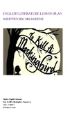 English Literature Lesson Plan- To Kill a Mockingbird
