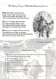 English Literature  - The Chimney Sweeper-Upper Levels