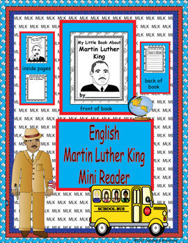 English Martin Luther King Mini Reader