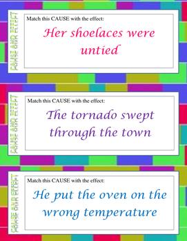 English Matching Flashcard Activity