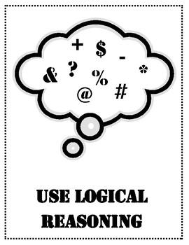 English Math Problem Solving Posters