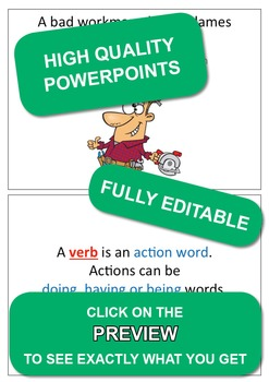 Set 1, English & Math Rules; Weekly Homework Sheets & PowerPoint Lessons.