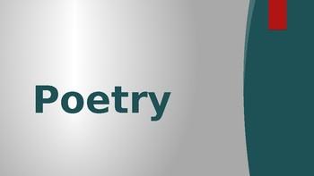 English Mini Poetry Unit Lesson PowerPoint