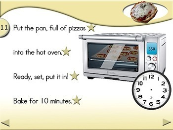 English Muffin Pizza - Animated Step-by-Step Recipe - Regular