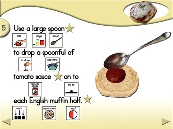 English Muffin Pizza - Animated Step-by-Step Recipe PCS