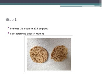 Cooking Lesson:  English Muffin Pizza Recipe