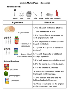 Recipe: English Muffin Pizza