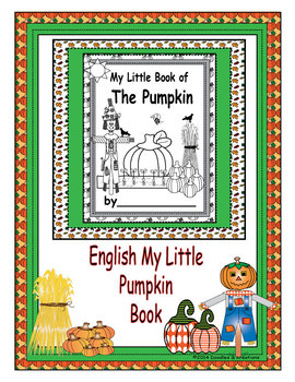 English My Little Pumpkin Book