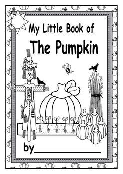 English My Little Pumpkin Book