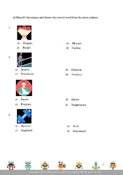 English Olympiad Workbook for Grade 4