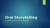 English Oral Storytelling Unit Lessons PowerPoint
