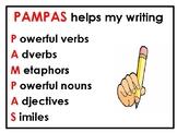 English - PAMPAS 'to help my writing'