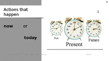 English Past Present & Future basic review