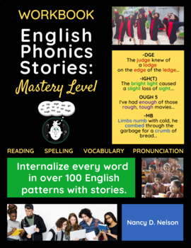English Phonics Stories: Mastery Level WORKBOOK