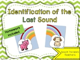English Phonological Awareness: Identification of the Last Sound