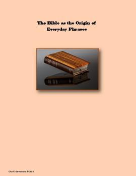 English Phrases - Bible Origins