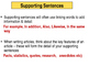 English - Planning & structuring writing - Paragraphs & su