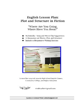 "English: Plot and Structure in ""Where Are You Going, Where Have You Been?"""