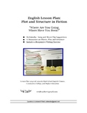 """English: Plot and Structure in """"Where Are You Going, Where"""
