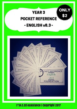 English Pocket Reference - Year 3