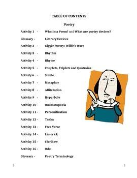 English Poetry Unit