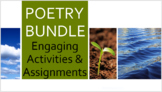 POETRY BUNDLE Fun, Engaging, and Instructional Poetry Resources & Poetry Test