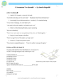 English Pop Music Worksheet - Someone You Loved - Lewis Capaldi