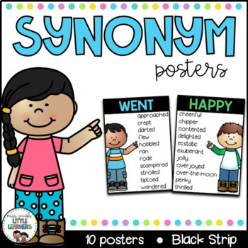 English Posters Bundle {Black Strip} Reading and Writing Strategies