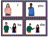 English Pronouns Flashcards: Subject, Object and Possessive 32 Cards