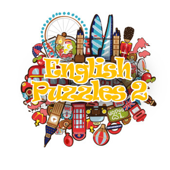 English Puzzles Vocabulary practice workbook for EFL ESL Pre-Intermediate level