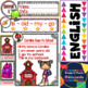English Reading - Back to School  - Guided  Reading Passages - Level 1 - Set 1