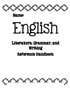 English Reference Handbook-- A Collection of Resources
