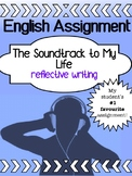 English - Reflective Writing - Soundtrack To Your Life