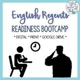 English Regents Readiness Bootcamp | EDITABLE - Google Drive