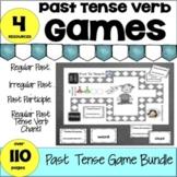 Past Tense Verbs Games Regular & Irregular-Easel Digital a