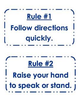 English Rules