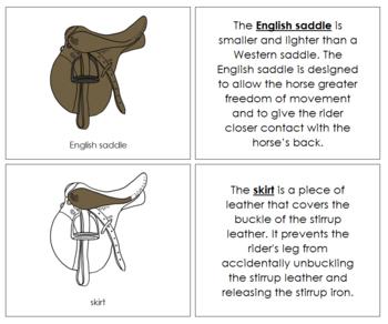 English Saddle Nomenclature Book