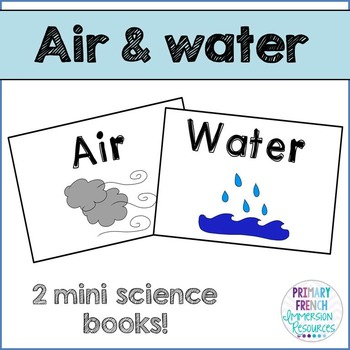 English Science Books - Air and Water