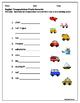English Scrambles -- animals, transportation, food