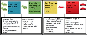 English Self-Regulation tracker