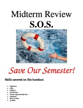 English Skill Review and Practice Handout for Midterm SOS