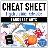 English Cheat Sheet