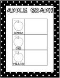 English/Spanish Bilingual Apple Graph Craft