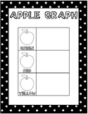 English/Spanish Bilingual Apple Graph Craft