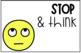 English & Spanish Emoji Behavior Clip Chart! EDITABLE!