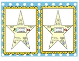 English & Spanish Guided Reading Tips Star Bookmark of Cue