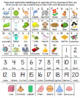 English & Spanish Home Folder Learning - Alphabet, Numbers 1-20, 3-D Shapes
