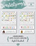 English & Spanish Home Folder Learning - Alphabet, Numbers